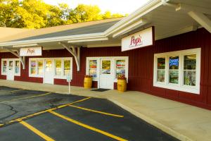 Pop's storefront